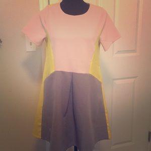 Mini shift dress ! (Pastel colors)